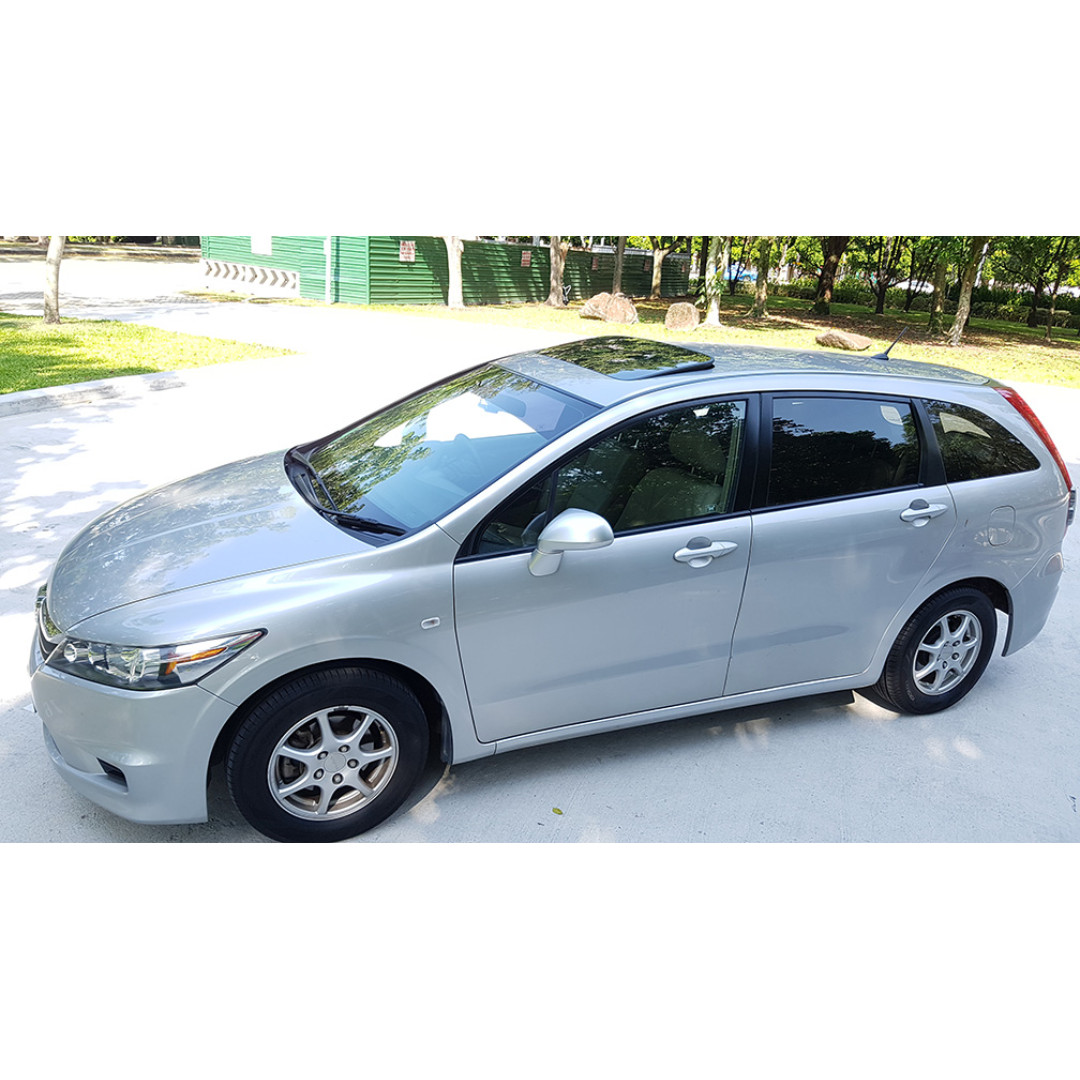 Honda Stream 1 8a Sunroof Uber Grab Ready Cars Vehicle Rentals