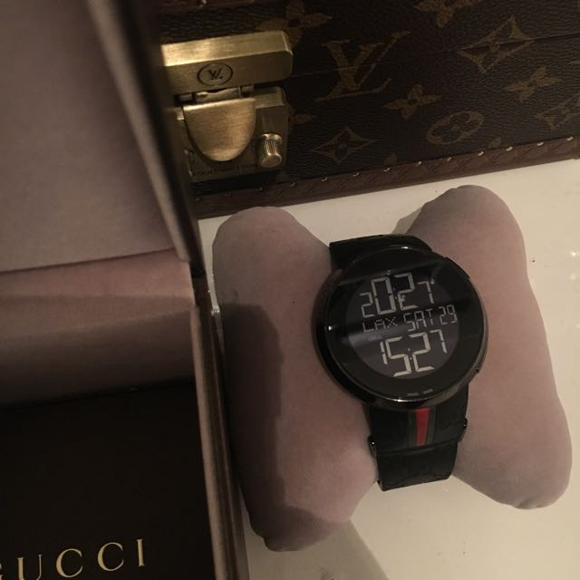 I Gucci Digital Watch