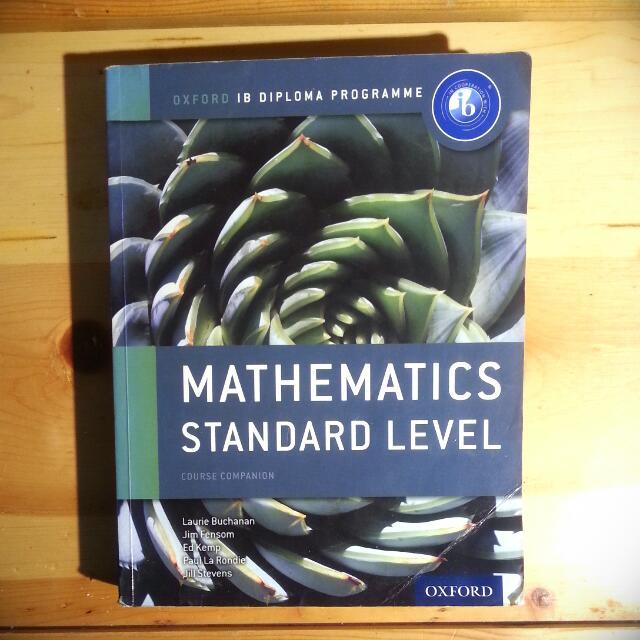 IB Mathematics Standard Level Course Companion Textbook