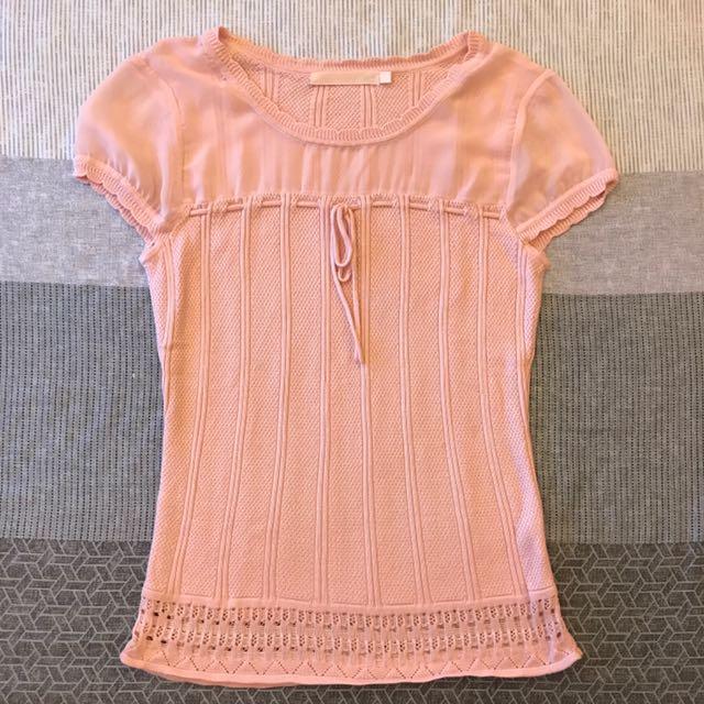 IENA 超細緻氣質款針織衫-粉色