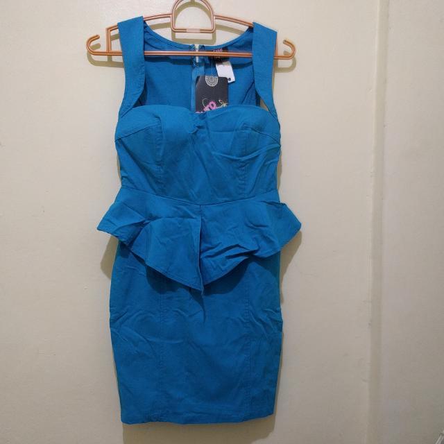 Imported Peplum Dress