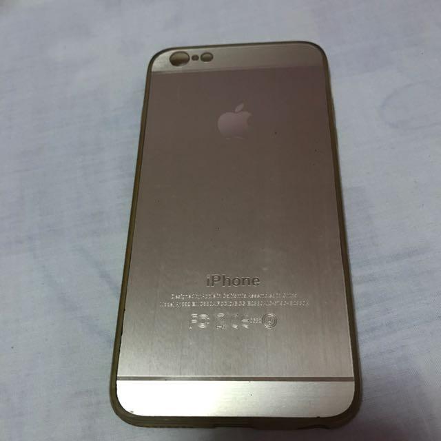 Iphone 6/6s Plus Casing Gold