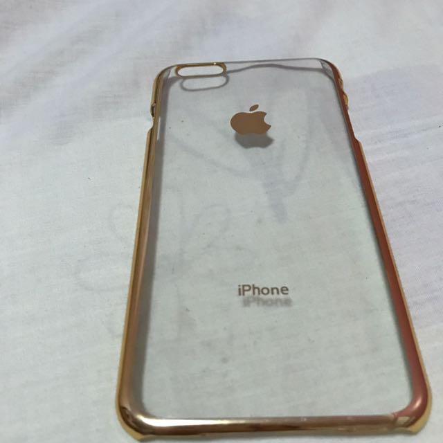 Iphone 6/6s Plus Gold Casing