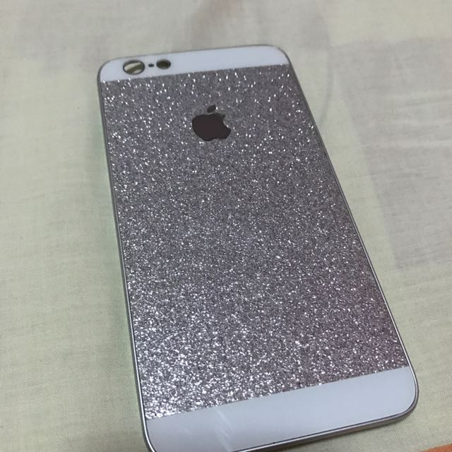 Iphone 6/6s Plus Silver Casing