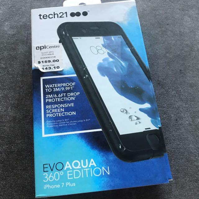 reputable site ca9a3 b3ba8 Iphone 7 Plus Tech21 Evo Aqua 360 Edition Diving Case