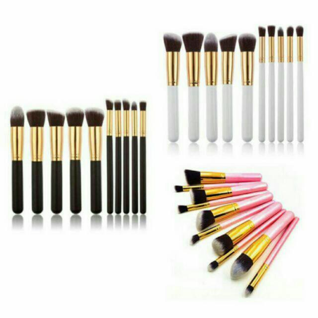 Sale💜 Kabuki Brush Set 10pcs