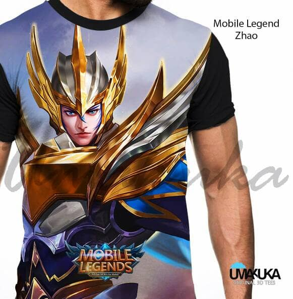 Kaos Mobile Legends Yun Zao Zilong Olshop Fashion Olshop Pria