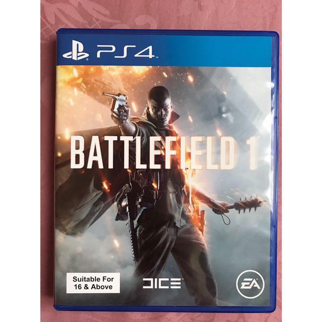 Kaset PS 4 - Battlefield 1
