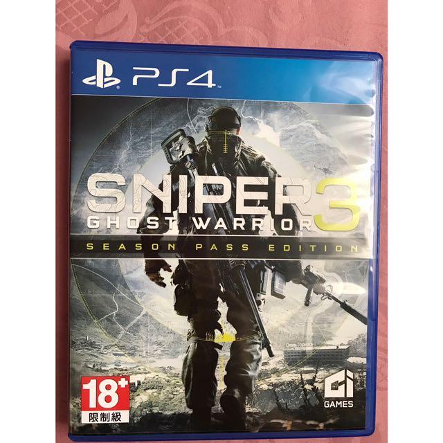 Kaset PS 4 - Sniper