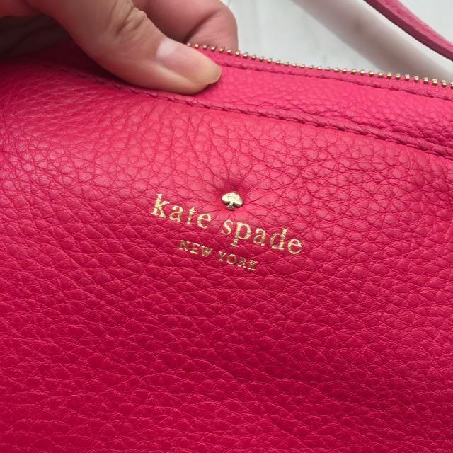 Kate Spade Hot Pink IPad Holder Slingbag