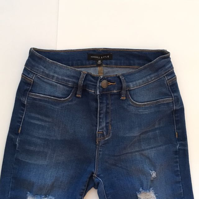 KENDALL & KYLIE MidRise Jeans