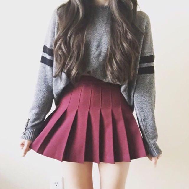 Korean Tennis Skirt