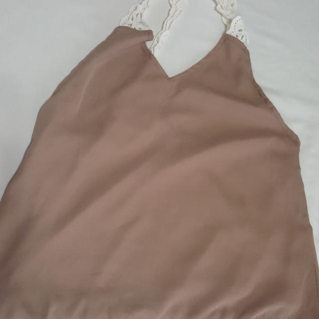 Light brown Halter top