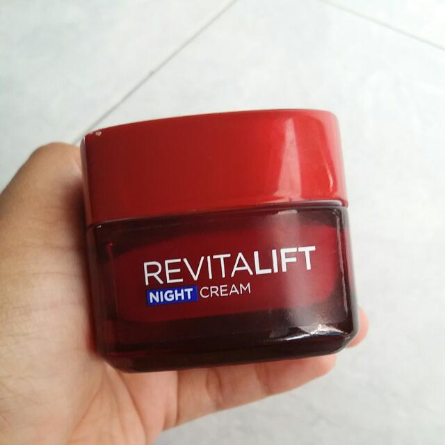 LOREAL Revitalift Night Cream + Serum