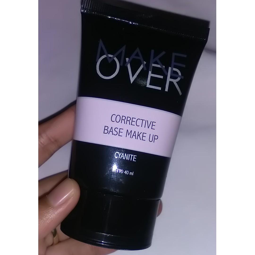 Make Over Corrective Base Make Up (01 cyanite), Health & Beauty, Makeup on Carousell