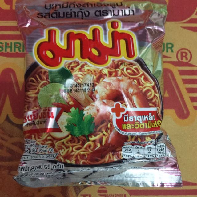 MAMA Instant Noodle Tom Yum