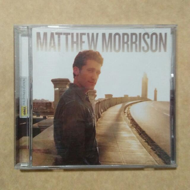 Matthew Morrison's self-titled debut album