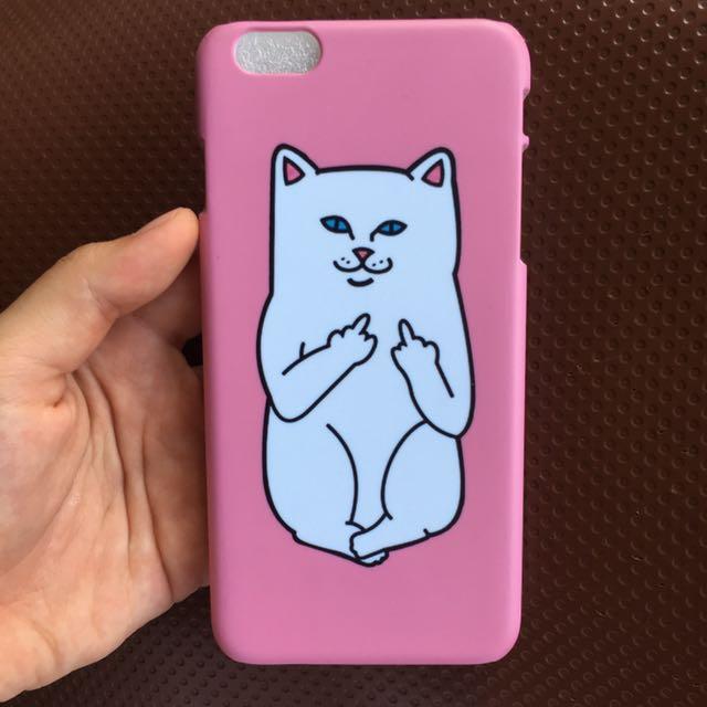 Middlefinger Cat Case