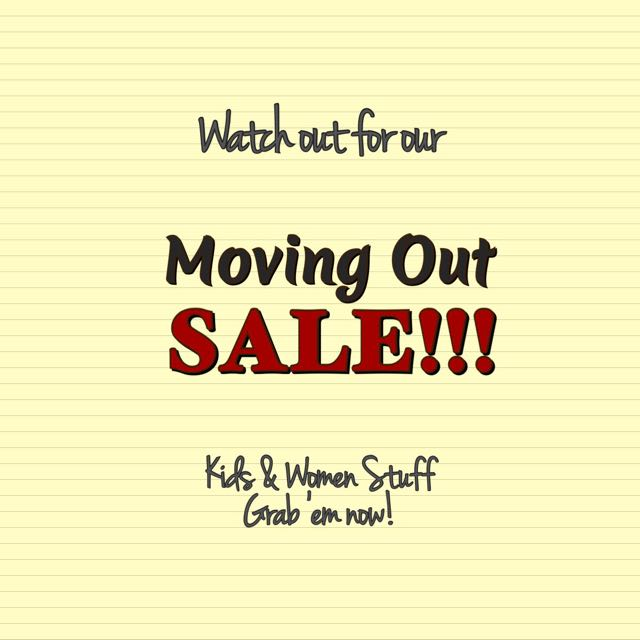 ❗️Moving Out SALE❗️