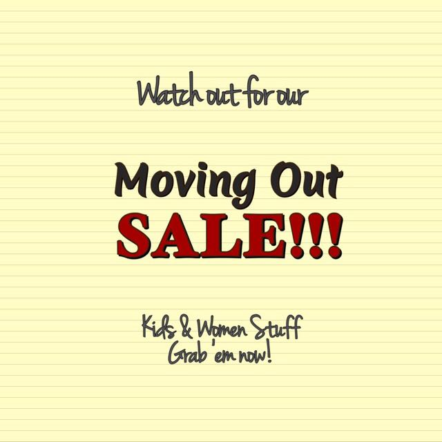 ❗️Moving Out SALE ❗️