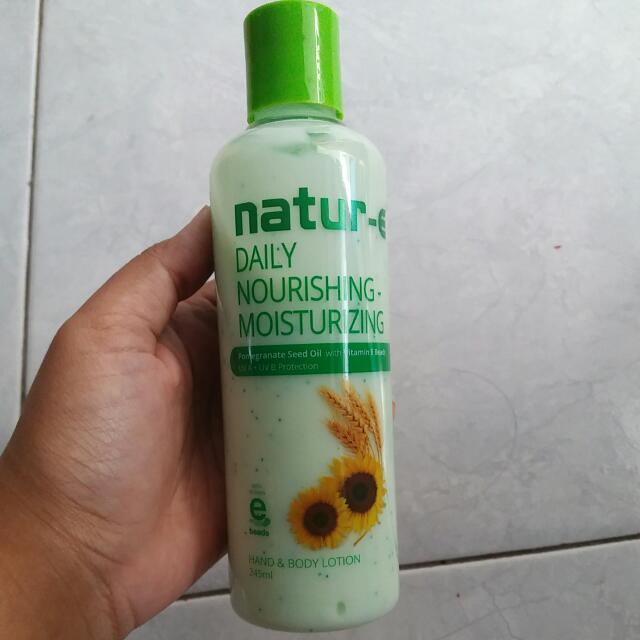 Natur-e Daily Nourishing Hand &body Lotion