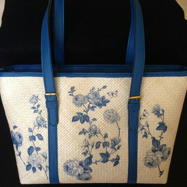 NEW - Deco Beach Bag With Zipper