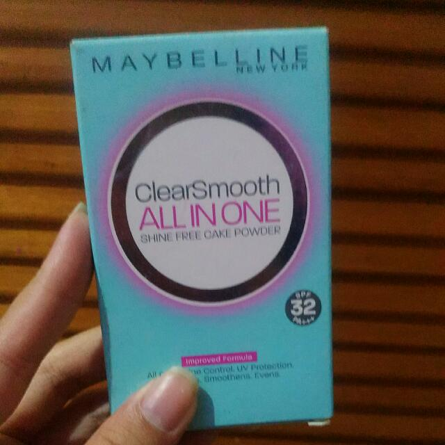 [NEW] MAYBELLINE CLEAR SMOOTH ALL IN ONE
