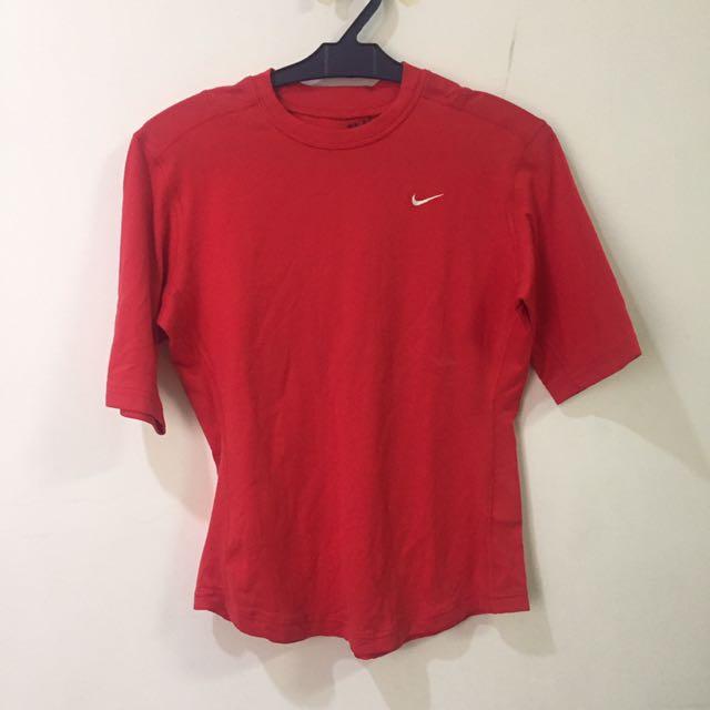 Nike Red Dri-fit Shirt