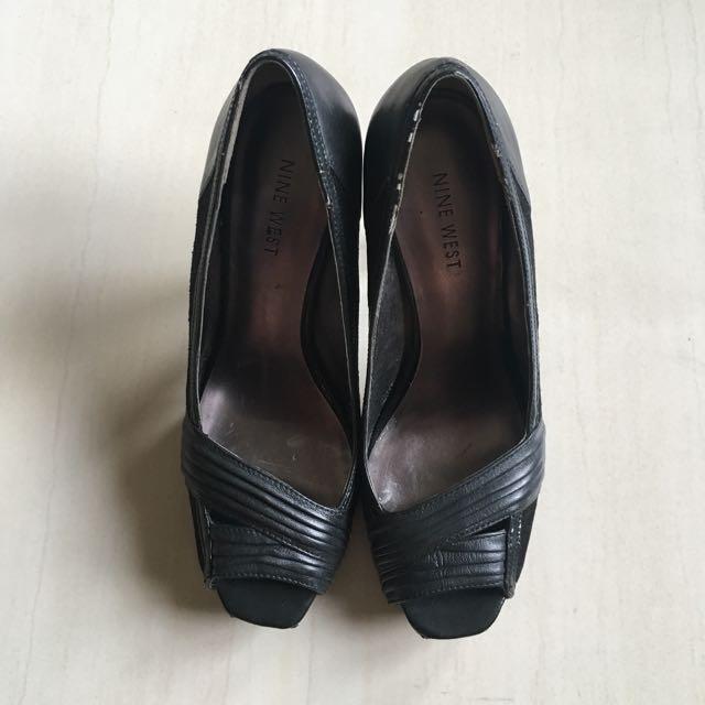Nine West High Heels Shoes Black Size 37.5