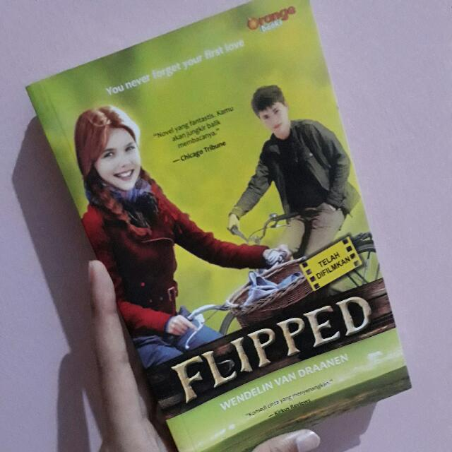 Novel Flipped - Wendelin Van Draanen