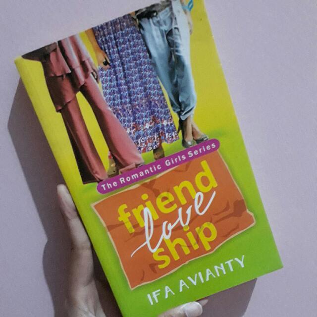 Novel Friend Love Ship - Ifa Avianty