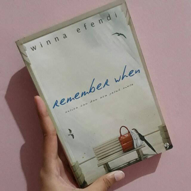 Novel Remember When - Winna Efendi