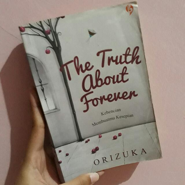 NOVEL THE TRUTH ABOUT FOREVER - ORIZUKA