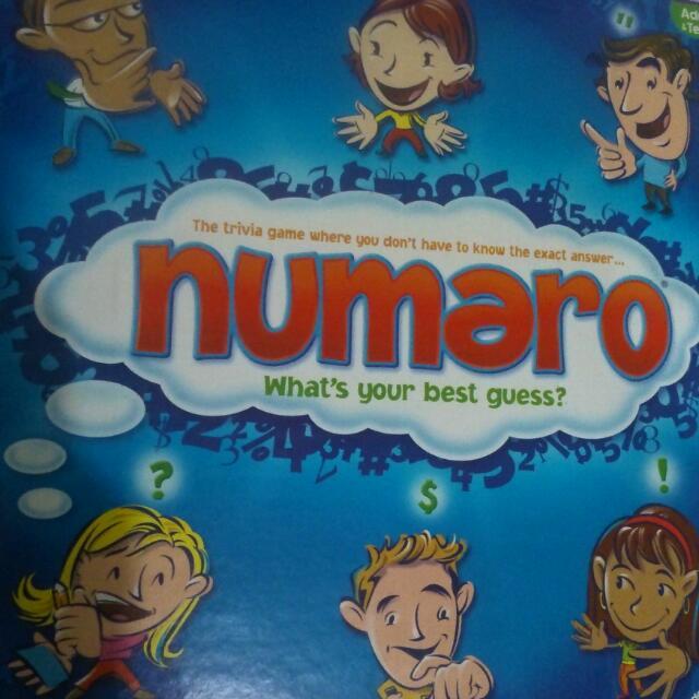 Numero Boardgame