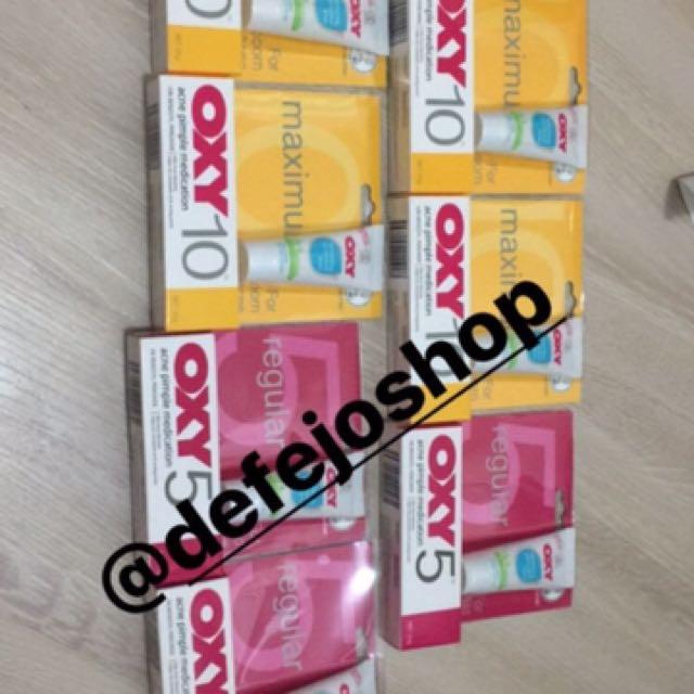 Oxy 5 Dan Oxy 10