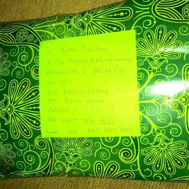TERKIRIM .....Thank you mba say (paket siap kirim, menunggu pembayaran langsung cuuuuz..)