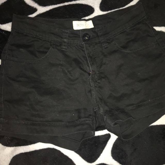Pazzo Black Shorts