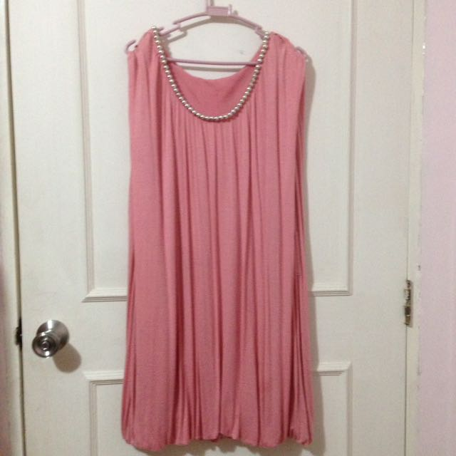 People Are People Pink Puff Dress