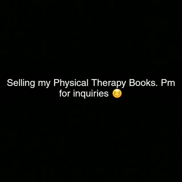 Physical Therapy Books