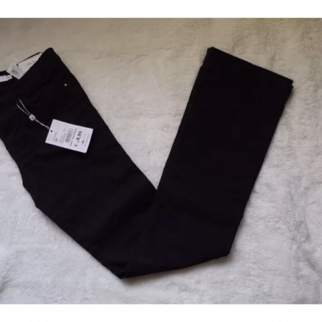 Piazza Italia Boot Cut Black Pants