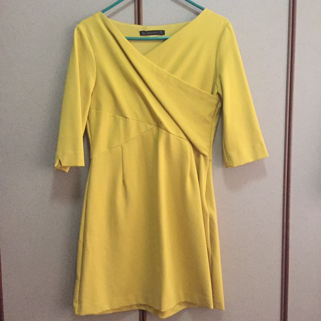 2a5b812e Preloved Zara Basic Dress, Women's Fashion, Clothes, Dresses ...