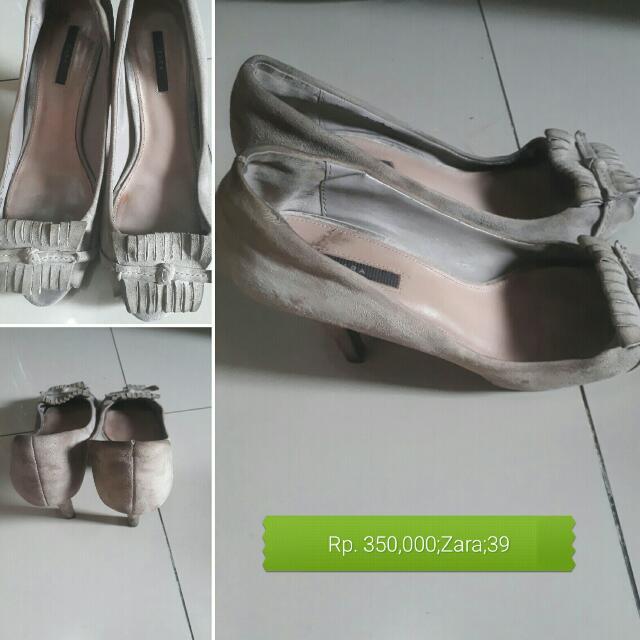 Preloved Zara Suede Shoes