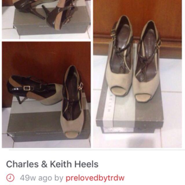 REPRICE C&K Heels