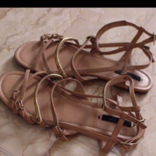 REPRICE sandals zara