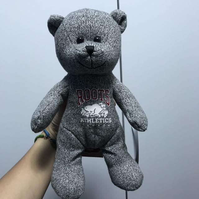 Roots Taiwan 20週年紀念玩偶