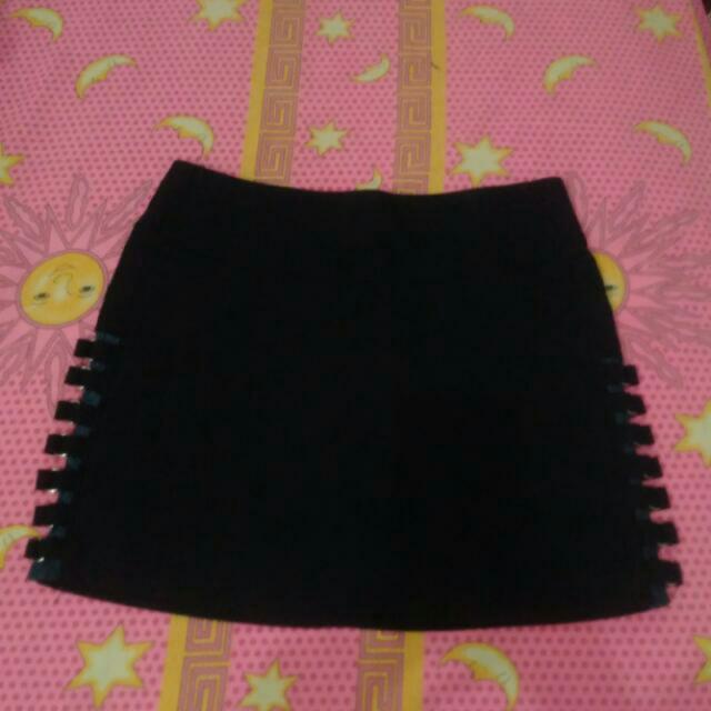 SALE Black Miniskirt