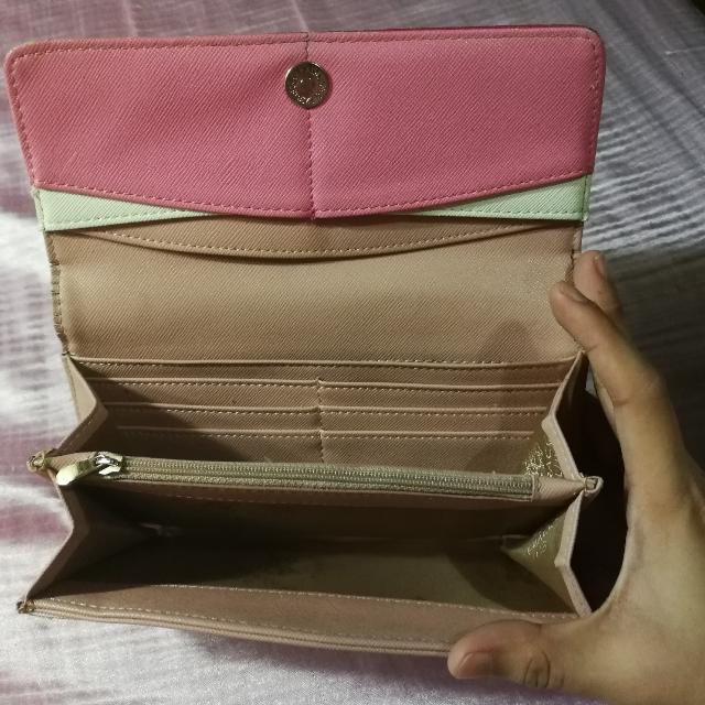 e73849b8e98 Santa Barbara Polo   Racquet Club Ladies Pink Wallet, Women s Fashion, Bags    Wallets on Carousell