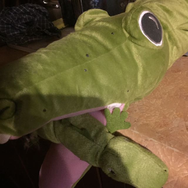 Soft Alligator Rattle