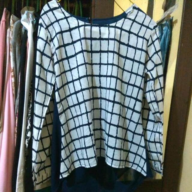 #reprices  Square Blouse Asimetris