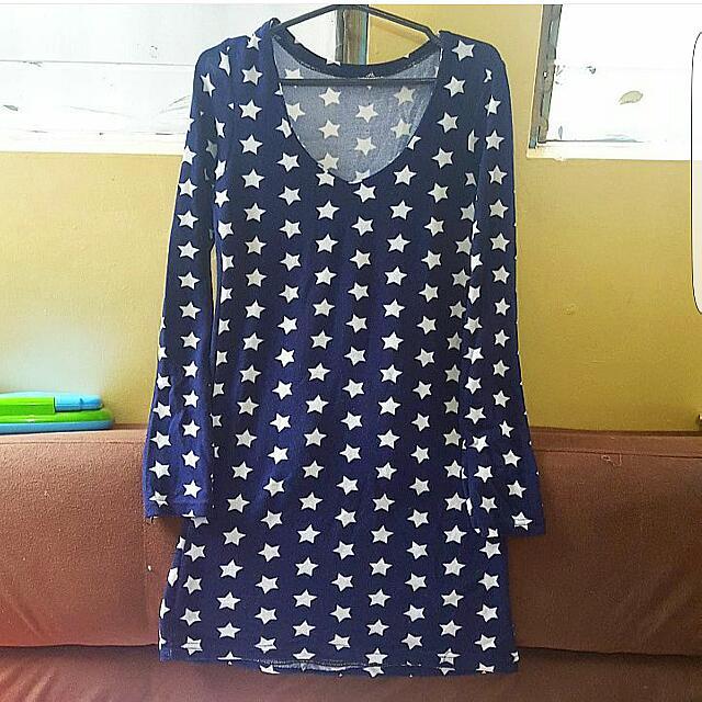 Starry Knit Dress